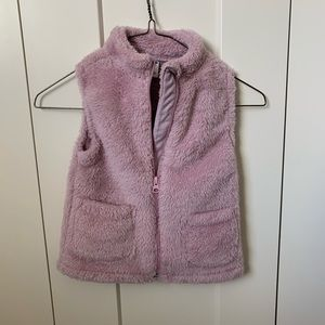 Toddler Girl Purple/Pink Vest